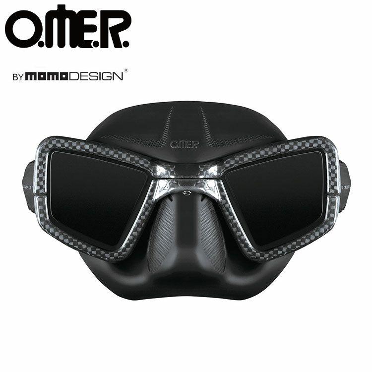 フリーダイビング用マスクOMER/オマーUP-M1C(ノーズクリップ付)[351050060000]