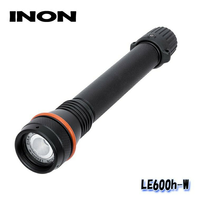 【水中ライト】INON/イノンLED水中ライトLE600h-W